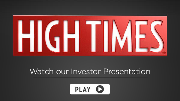 High Times Investor Video