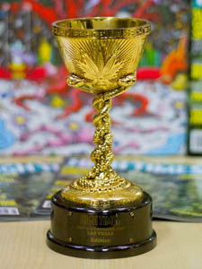 Cannabis Cup Trophy